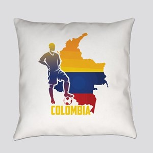 Football Worldcup Colombia Colombi Everyday Pillow