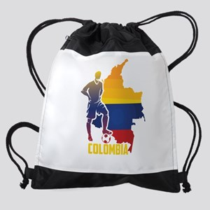 Football Worldcup Colombia Colombia Drawstring Bag