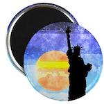 Majestic Lady Liberty Magnets