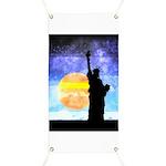 Majestic Lady Liberty Banner
