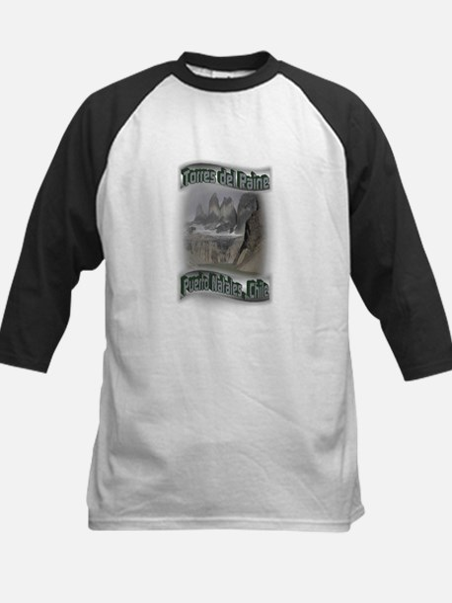 Torres del Paine Kids Baseball Jersey