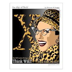 Think Wild regular sized Poster
