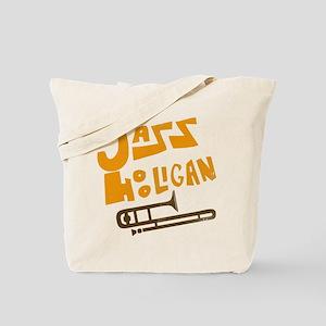 Jazz Hooligan Tote Bag
