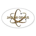 Jaguar Genius Oval Sticker