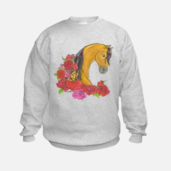 Buckskin Roses Sweatshirt