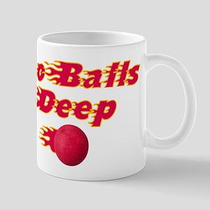 Dodgeball - Go Balls Deep Mug
