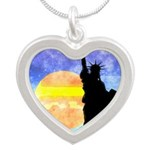 Majestic Lady Liberty Necklaces
