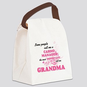 Some call me a Casino Manager, th Canvas Lunch Bag