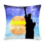 Majestic Lady Liberty Everyday Pillow
