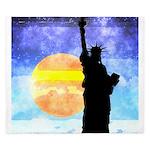 Majestic Lady Liberty King Duvet