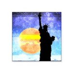 Majestic Lady Liberty Sticker