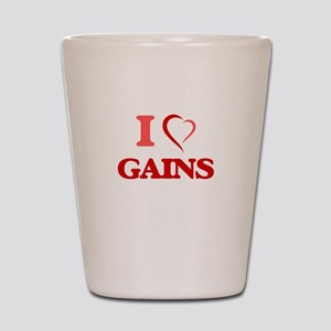 I love Gains Shot Glass