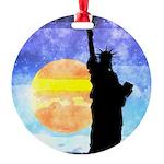 Majestic Lady Liberty Ornament