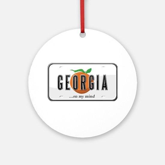 Georgia Ornament (Round)