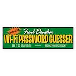 Wi-Fi Password Guesser sticker