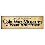 Cola War Museum sticker