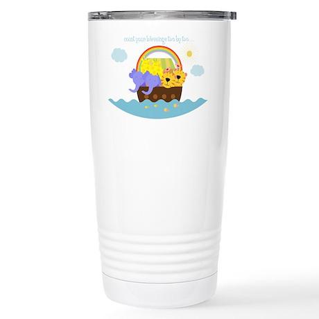 Noah's Ark Stainless Steel Travel Mug