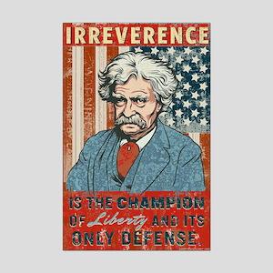Mark Twain Irreverence Mini Poster Print