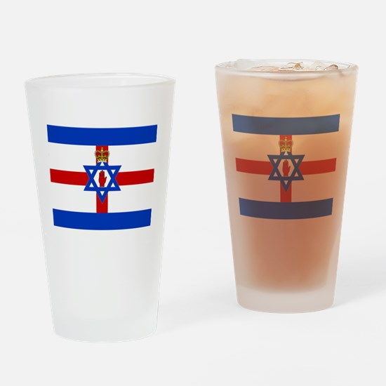 Funny Ulster scot Drinking Glass