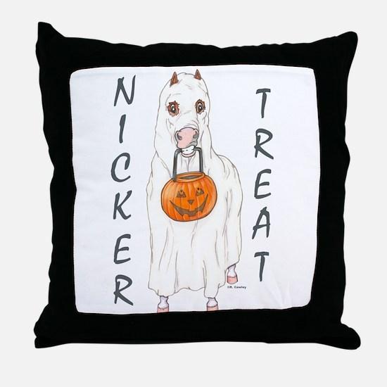 Nicker Treat Throw Pillow
