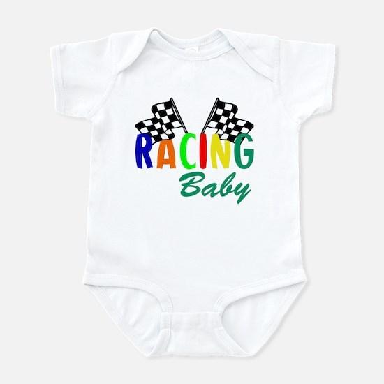 Racing Baby Infant Bodysuit