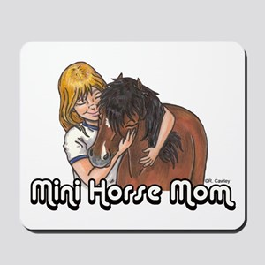 Mini Horse Mom Mousepad