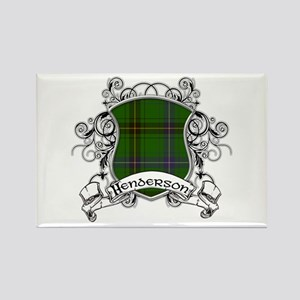 Henderson Tartan Shield Rectangle Magnet