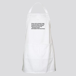 John Quincy Adams Quote BBQ Apron