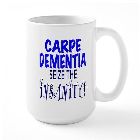 Carpe Dementia Large Mug