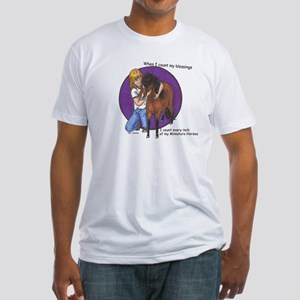 Bay Blessings 2 Fitted T-Shirt