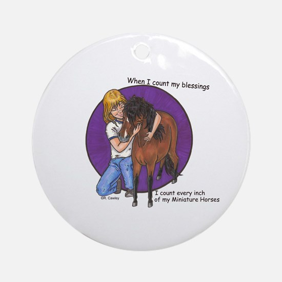 Bay Blessings 2 Ornament (Round)