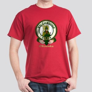 O'Rourke Clan Motto Dark T-Shirt
