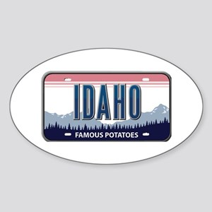 Idaho Oval Sticker