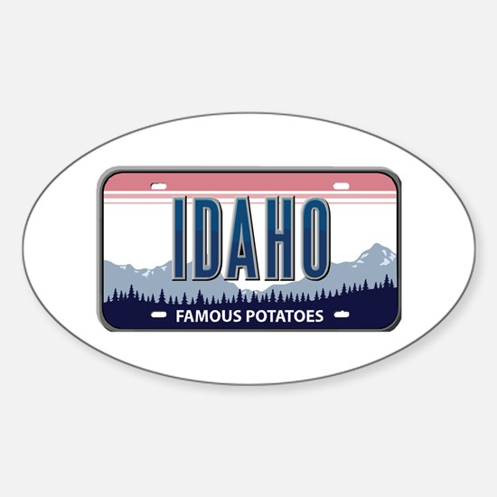 Idaho Oval Decal