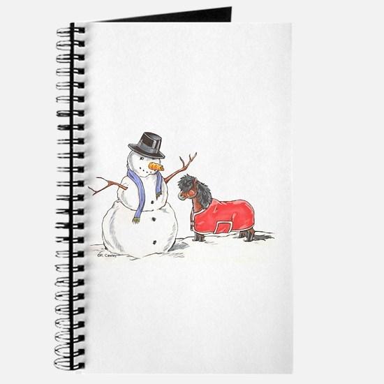 Snowman Treat Journal