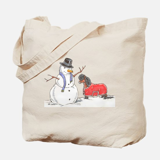 Snowman Treat Tote Bag