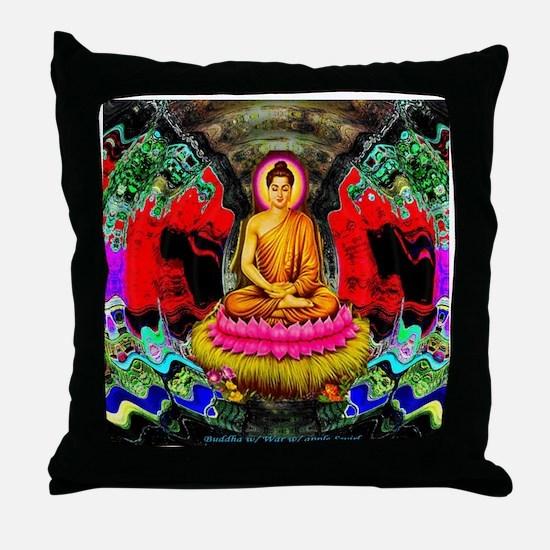Buddha Swirl - Throw Pillow