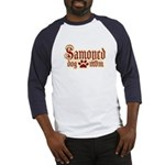 Samoyed Mom Baseball Jersey