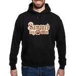 Samoyed Mom Hoodie (dark)
