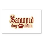 Samoyed Mom Sticker (Rectangle 50 pk)