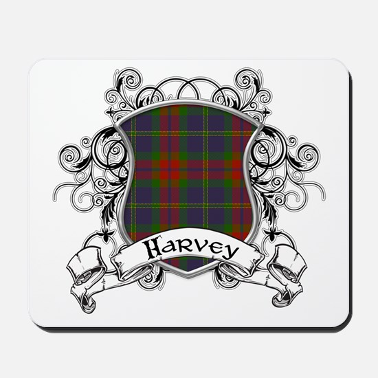 Harvey Tartan Shield Mousepad