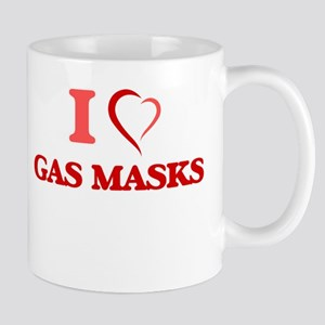 I love Gas Masks Mugs