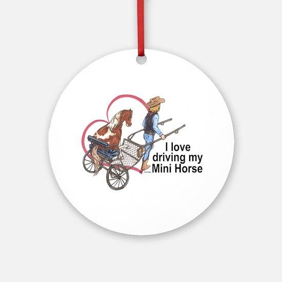 Love Driving PMH Ornament (Round)
