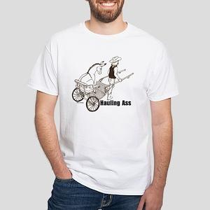 Hauling A White T-Shirt