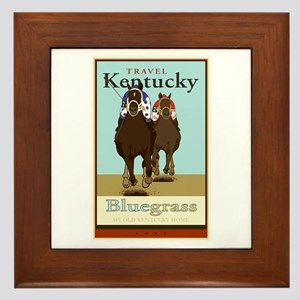 Travel Kentucky Framed Tile