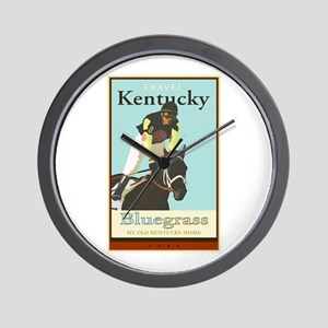 Travel Kentucky Wall Clock