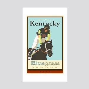 Kentucky gifts cafepress travel kentucky rectangle sticker negle Choice Image