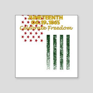 Juneteenth Freedom Day June 19 1865 Celebr Sticker