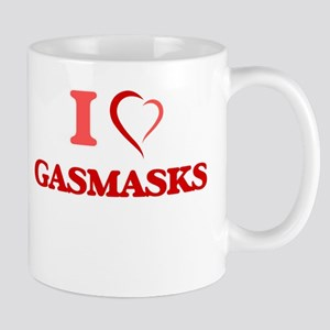 I love Gasmasks Mugs