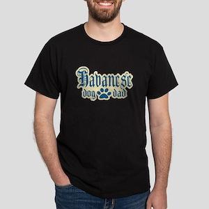 Havanese Dad Dark T-Shirt